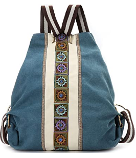 Women Canvas Daypack Backpack Review.