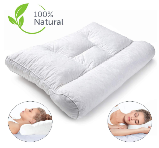 Cervical Pillow for side sleepers review. Best pillow for side sleepers.
