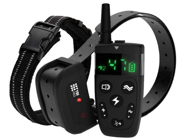 TBI Pro Dog Training Collar with Remote Review. Best for Small, Medium, Large Dogs, All Breeds