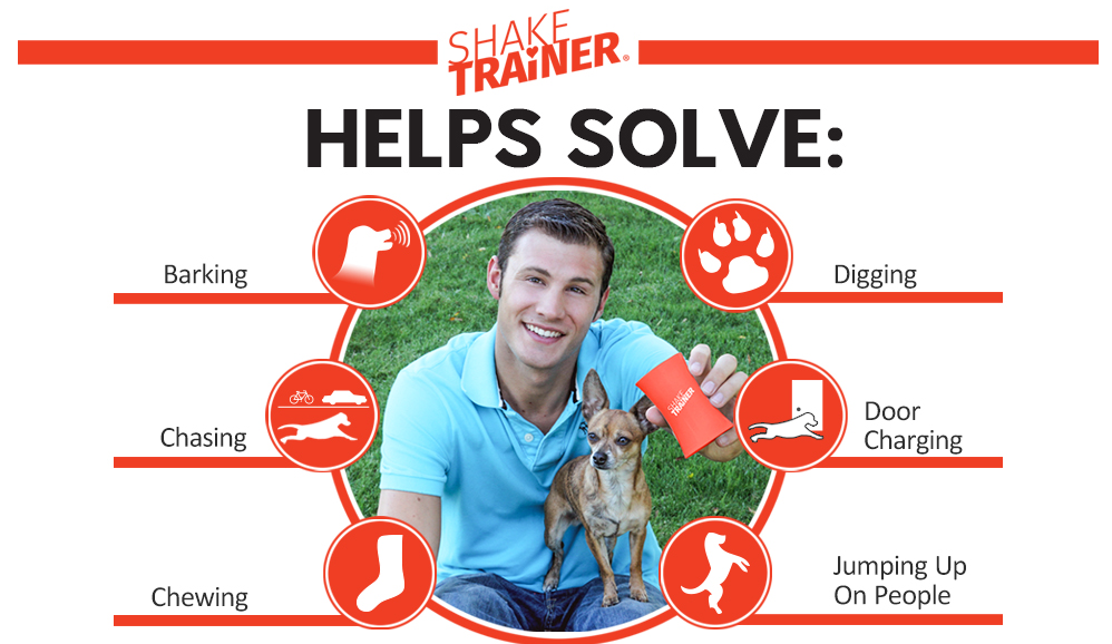 ShakeTrainer - The Original Premium & Complete Humane Dog Training Kit with Instructional Video - Stops Your Dog's Bad Behaviors in Minutes Without Shocking or Spraying - Easy to Use Review