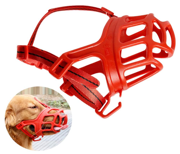 Dog Muzzle, Breathable Basket Muzzles for Small, Medium, Large and X-Large Dogs, Stop Biting, Barking and Chewing, Best for Aggressive Dogs Review.