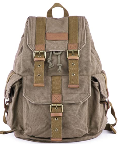 Thick Canvas Backpack / Daypack Review.