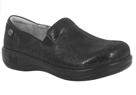 Best women's shoes for standing on concrete for long hours. Alegria Womens Keli Professional review.
