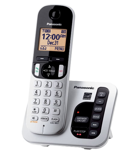 Best amplified phone under 50. Panasonic amplified cordless phone review.