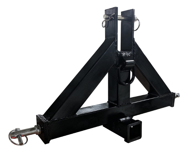 best 3-point quick hitch. Titan's heavy duty receiver hitch review.