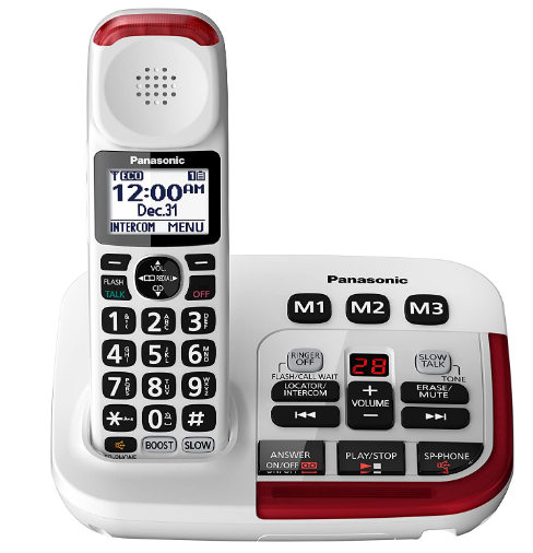 Best cordless phone for hearing impaired with answering machine