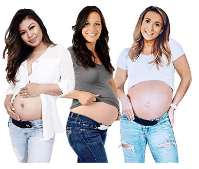 best maternity belly band for jeans, maternity belt for jeans and pants, maternity band for pants