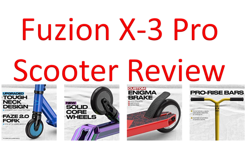 Fuzion X3 Pro Scooter Review